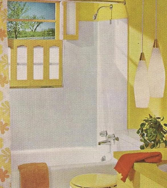 211 best images about bathrooms on pinterest 1950s for 1960s bathroom design