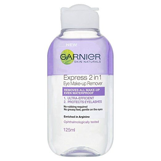 Garnier Skin Naturals 2-in-1 Eye Make-Up Remover 125ml