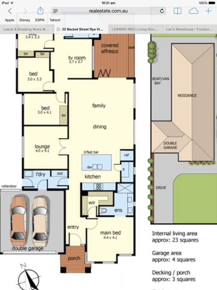 Ensuite and wardrobe layout