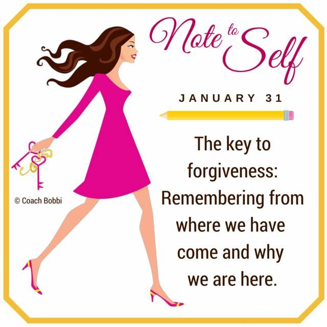 Note to Self: January 30, 2015  #forgive #forgiveness #selfhelp #love #happy #success #peace