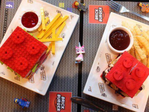 ¿Te comerías una hamburguesa de lego?