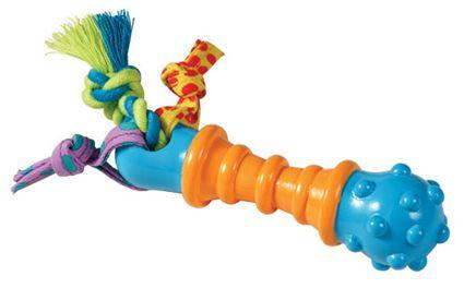 Jouet à mâcher pour chien Mini Barbell Chew PETSTAGES. - 14X3 CM / 6.65E / Favorise la Santé dentaire, réduit le stress et les comportements agressifs. Permet à votre animal de mâcher en toute liberté des produits adaptés et non nuisibles à sa santé.