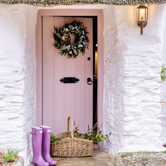 Entrance | Step inside this idyllic thatched cottage with gorgeous Scandi interior | housetohome.co.uk