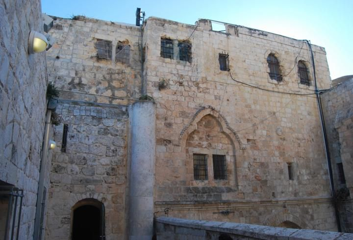 """""""Last supper"""" - Coenaculum (Jerusalem, Israel) This place, on Mount Zion, is the…"""