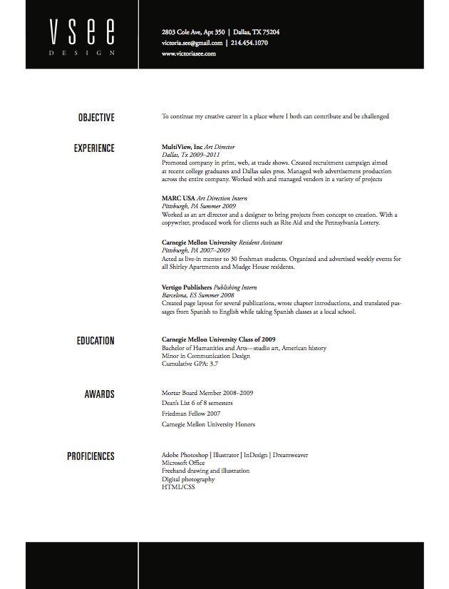 Resume Headings Great Header And Footer Look On The This Resume  Job  Pinterest