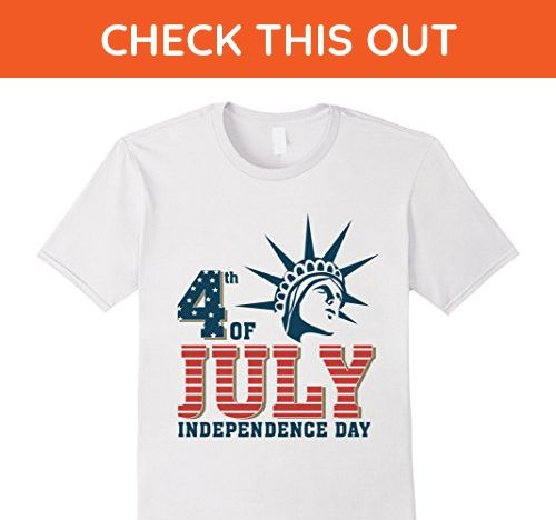 Mens 4th of July Happy America Independence Day t-shirt 3XL White - Holiday and seasonal shirts (*Amazon Partner-Link)