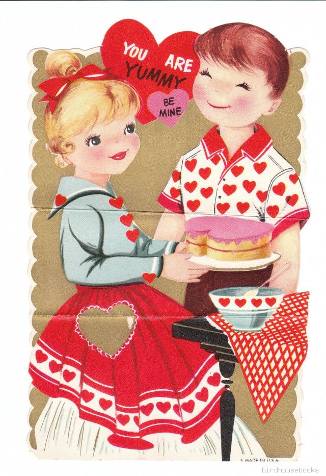 17 Best images about vintage valentines on Pinterest ...