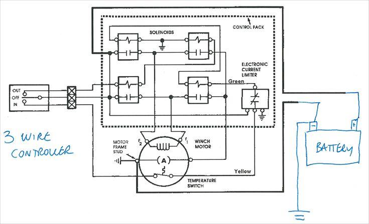 Warn Winch Wiring Diagram 4 Solenoid Unique Best Warn Winch ... on