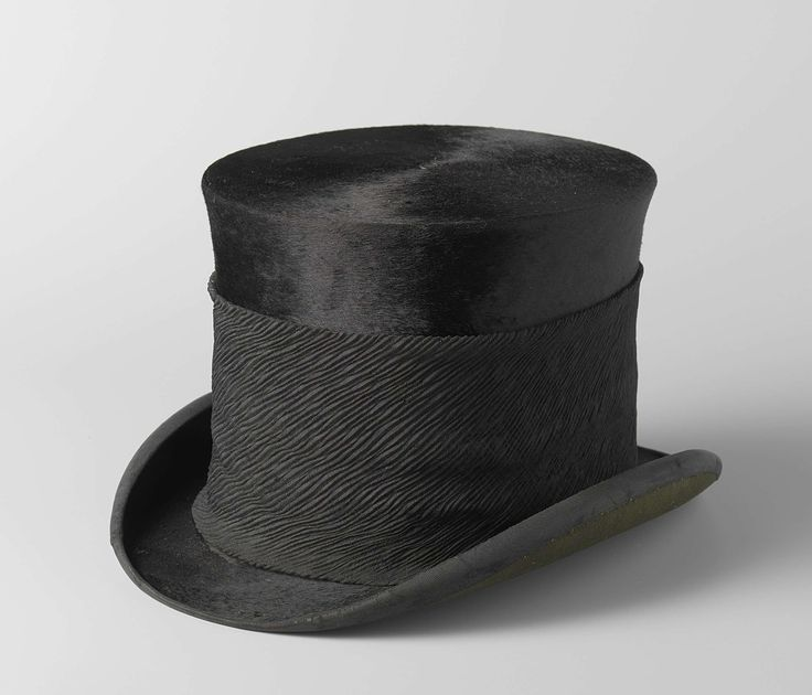 Top hat S.J.P. Kruger, Box and Co. Ltd. Cooper, ca 1850 - ca 1904