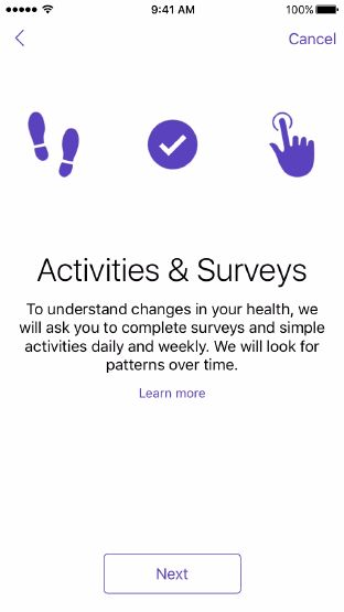 ResearchKit - Technologies - iOS Human Interface Guidelines