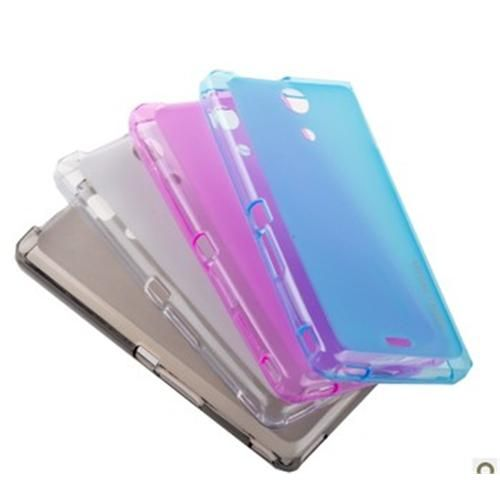 Remax Transparent Scrub Pudding Series TPU Case For Sony Xperia ZR