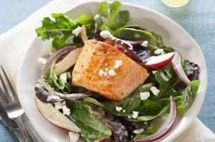 Salade au saumon à la grecque