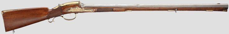http://www.hermann-historica.de/auktion/hhm66.pl?f=NR_LOT&c=%20%2082&t=temartic_S_GB&db=kat66_s.txt  A North German flintlock rifle with internal, covered lock, circa 1760
