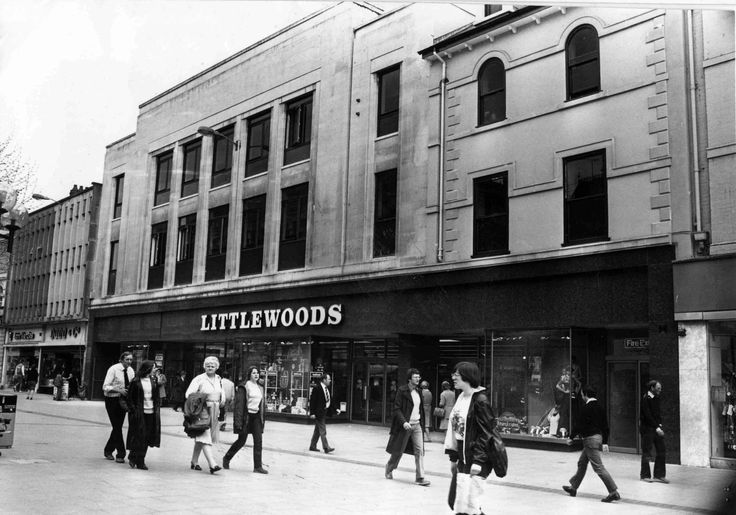 The Littlewoods store in Queen Street, Cardiff in 1981
