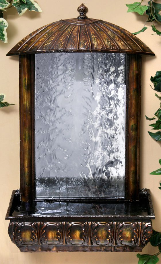 Details about wall mounted water feature fountain mirror - Wall mounted water feature ...