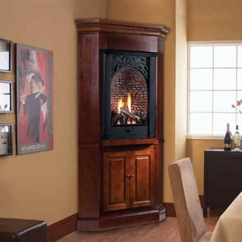 Monessen PL20PV Parlor Series 20-Inch Propane Vent-Free Fireplace System  With Millivolt On - 17 Best Ideas About Ventless Propane Fireplace On Pinterest Gas
