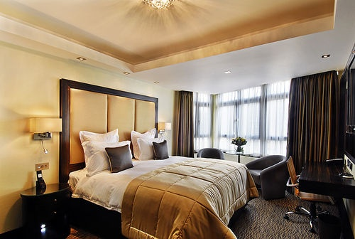 Guestroom at The Montcalm London...