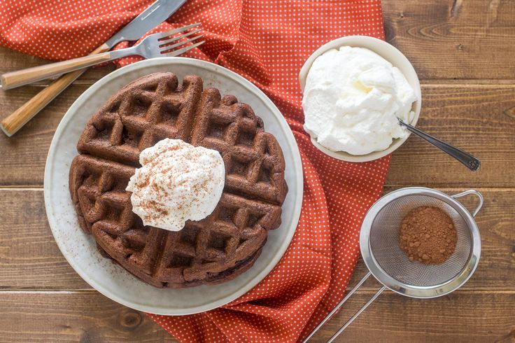 Chocolate (waffles) for breakfast? Why not! Especially when they're packed with healthy fats, antioxidants from cacao powder, and lots of protein from fresh eggs plus our Collagen Peptides, making them a great back-to-school breakfast!