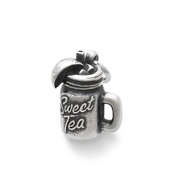 Sweet Tea Charm: Connecting the warm spirit of the south, this piece is a celebration of the region's hospitality and charm. #SweetTea #Charms #JamesAvery
