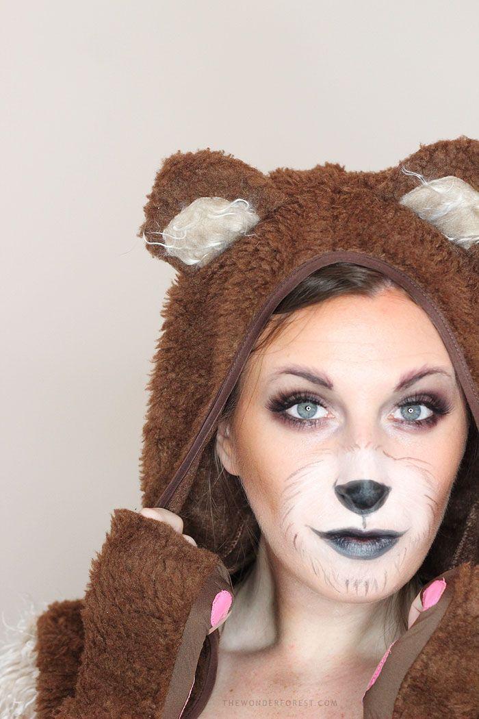 программы покажут грим медведя на лице фото прошло