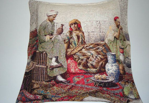 Wool Rustik Kilim Pillow for Home Decor.Turkish by BOHEMIANPILLOW, $69.00
