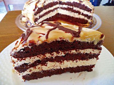 Olga's cuisine...και καλή σας όρεξη!!!: Πανεύκολη τούρτα καραμέλα!