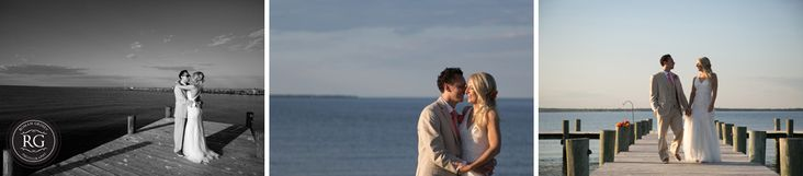 bride and groom portraits at Herrington on the Bay