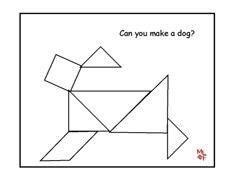 83 best tangram images on pinterest. Black Bedroom Furniture Sets. Home Design Ideas