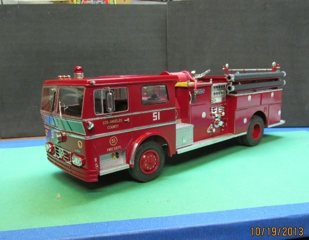 """Engine 51 from the TV Show """"Emergency!"""" in 1/25 scale."""