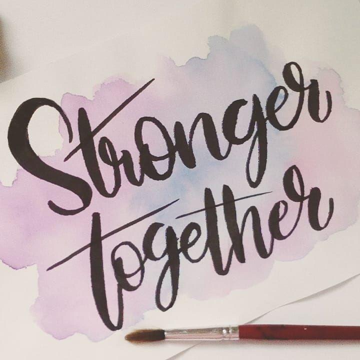 Stronger Together Frases En Ingles Frases Bonitas En Ingles