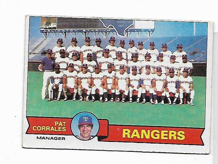 1979 Texas Rangers Team Card #499