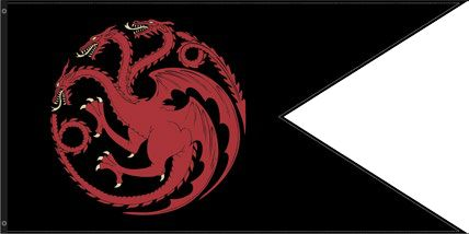 Targaryen Outdoor Flag