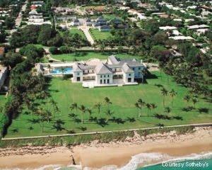 Nelson Peltz Palm Beach Mansion  Peltz is chief executive of New York holding company Triarc Companies (arbys, wendys).