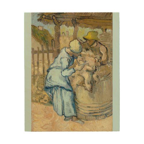 Sheep Shearer after Millet by Vincent Van Gogh #Wood Panel #Prints. #vangogh - 114 Best Van Gogh Wood Panel Prints Images On Pinterest Oil On