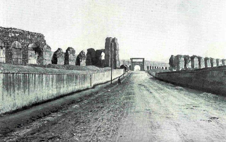 Via tuscolana 1904