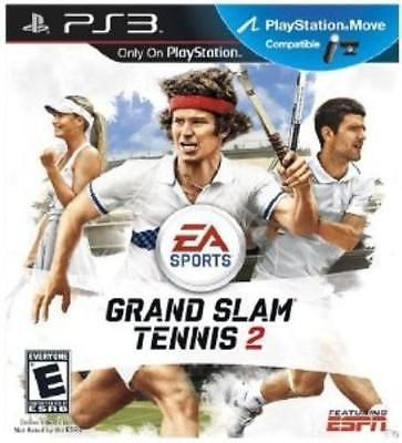 #Playstation 3 grand slam tennis 2 - move #compatible (p #videogames ,  View more on the LINK: http://www.zeppy.io/product/gb/2/301814282314/