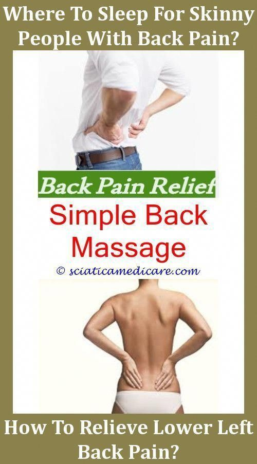 Pinched Nerve In Back Have A Cold And Top Right Side Back