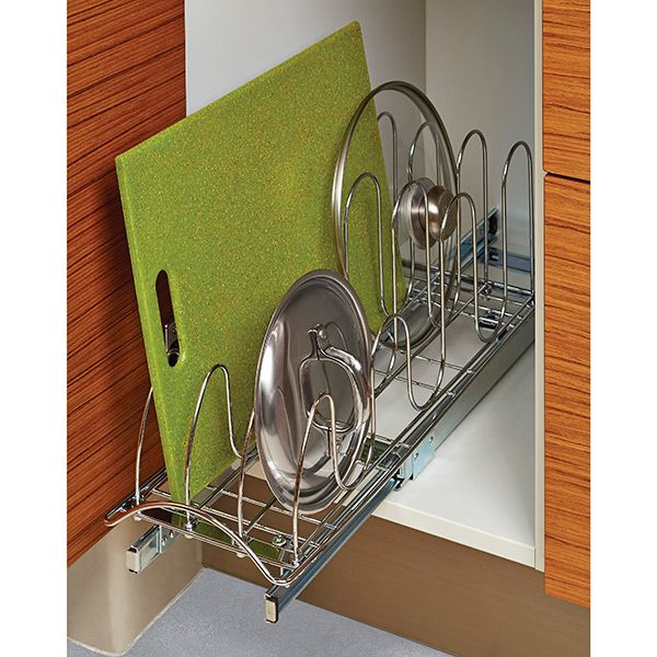 Lynk Chrome Pull Out Lid Holder Beautiful Good Ideas