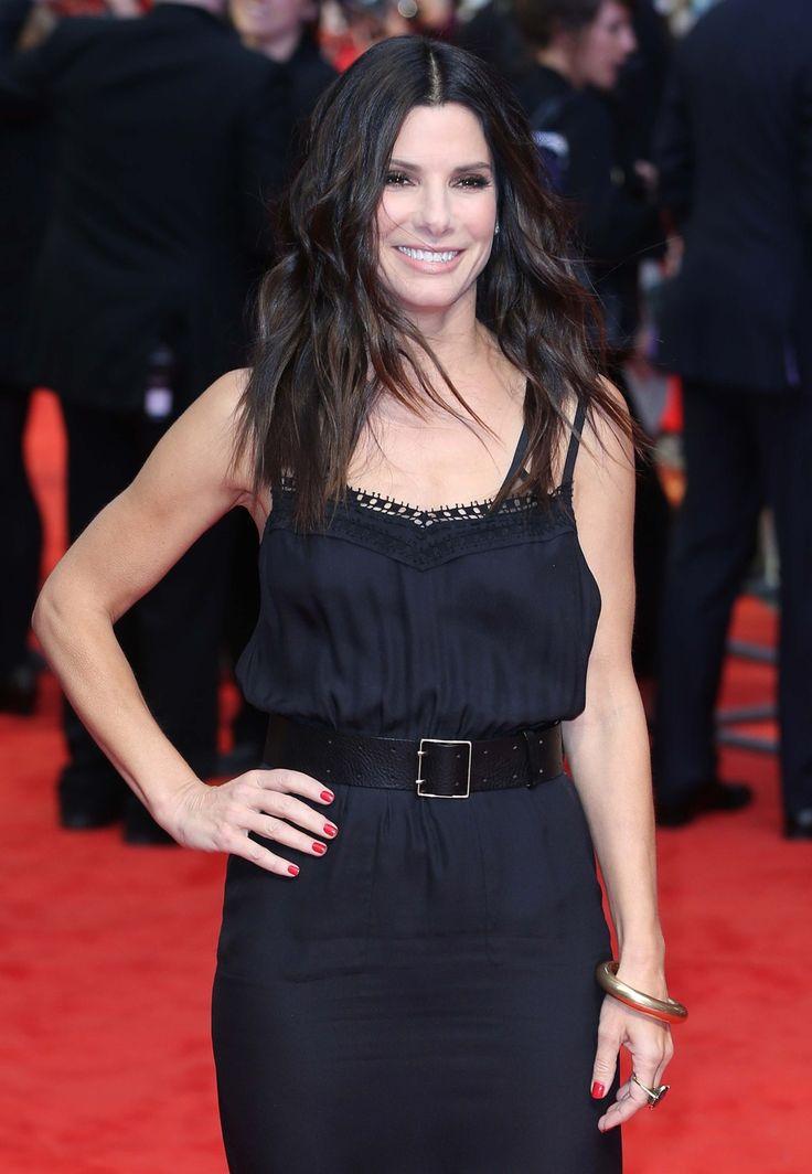 Sandra Bullock in London Looking Hot for The Heat! (Photos)