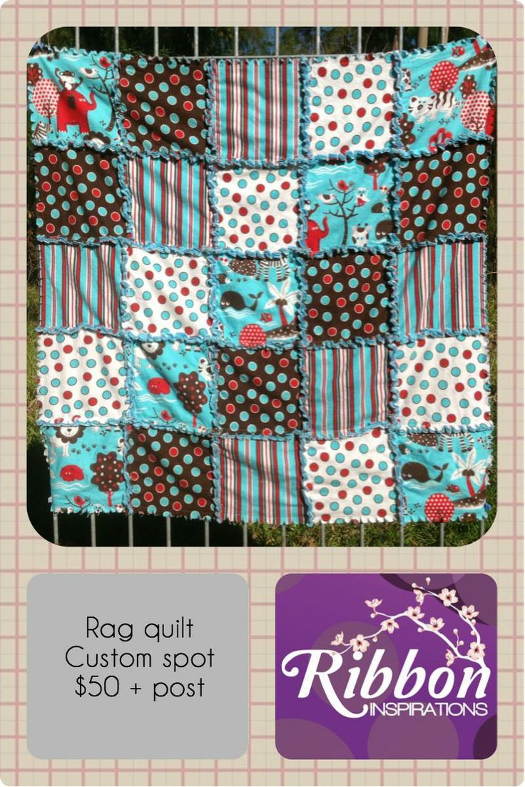 Rag quilt measuring approx 86cm square.For the Lads Market Night opens at 9pm, on Tuesday 3rd June, 2014. The first person to comment sold will be able to purchase the item direct from the business listed on the item.