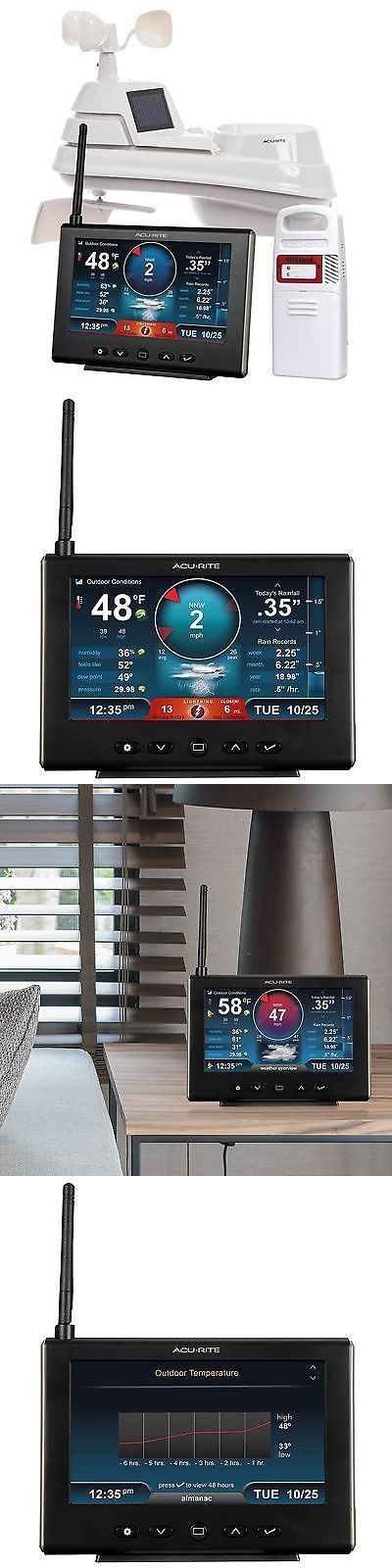 Weather Meters: Acurite 01024M Pro Weather Station With Hd Display, Lightning Detector, Rain -> BUY IT NOW ONLY: $203.01 on eBay!