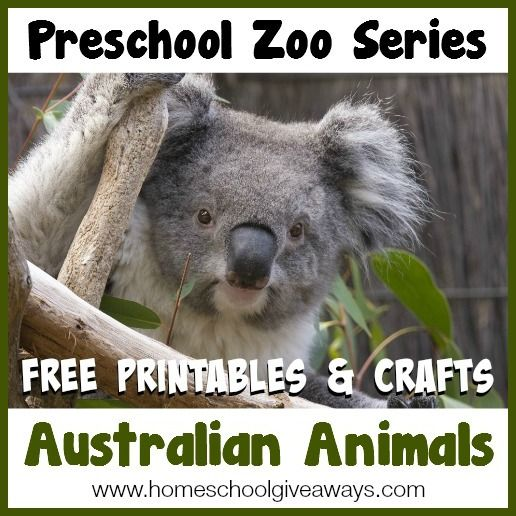 Animals Of Australia For The Montessori Wall Map Quietbook With Printables Advertisement