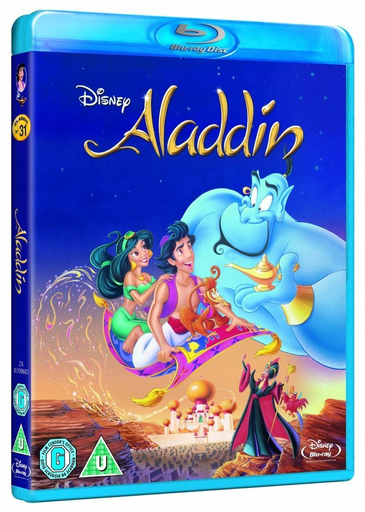 ALADDIN [Blu-ray Disc] Classic Disney Movie  Robin Williams + SPECIAL FEATURES