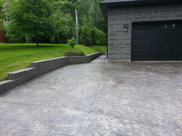 cour en beton estaper model peau - Cour En Beton Color