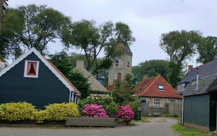 Ameland, Nes, old houses