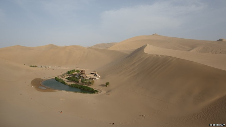May 13, 2013. Formerly a silk route hub and centre for trade between China and the West, Dunhuang relies heavily on tourism and features a number of historic sites dating back to the Han Dynasty.