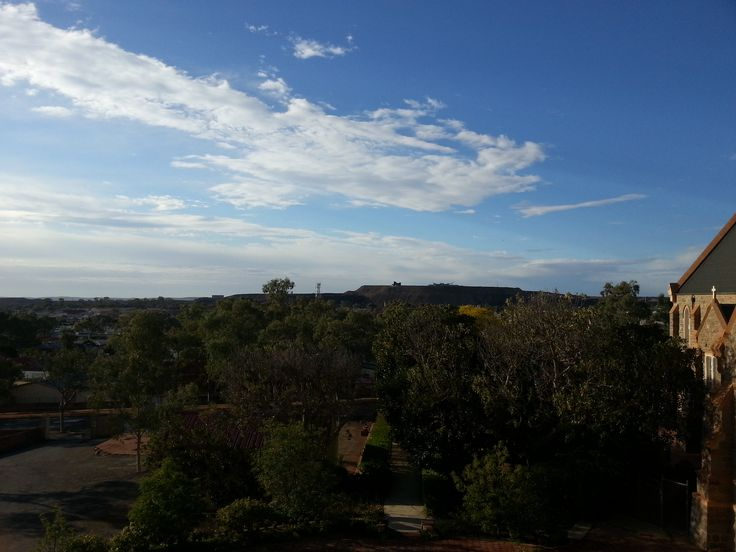 View from the convent in Broken Hill, NSW, Australia. #BrokenHill