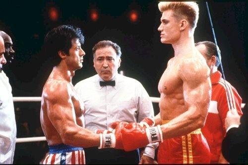 Rocky IV, the ultimate underdog movie.: Break, Rocky Balboa, Action Movie, Sylvester Stallone, Cold War, Favorite Movie, Dolph Lundgren, Rocky Iv, Ivan Drago