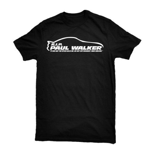 Shirt Junkies Adult - PAUL WALKER RIP Toyota Supra Smiling Quote Premium Next level T-Shirt-Black- S Shirt Junkies,http://www.amazon.com/dp/B00H7NBPWA/ref=cm_sw_r_pi_dp_8vU6sb0KEWY5NSRM