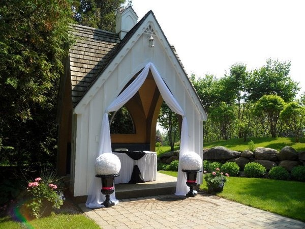 Simple Outdoor Wedding-i Would Love A Small Chapel On Our